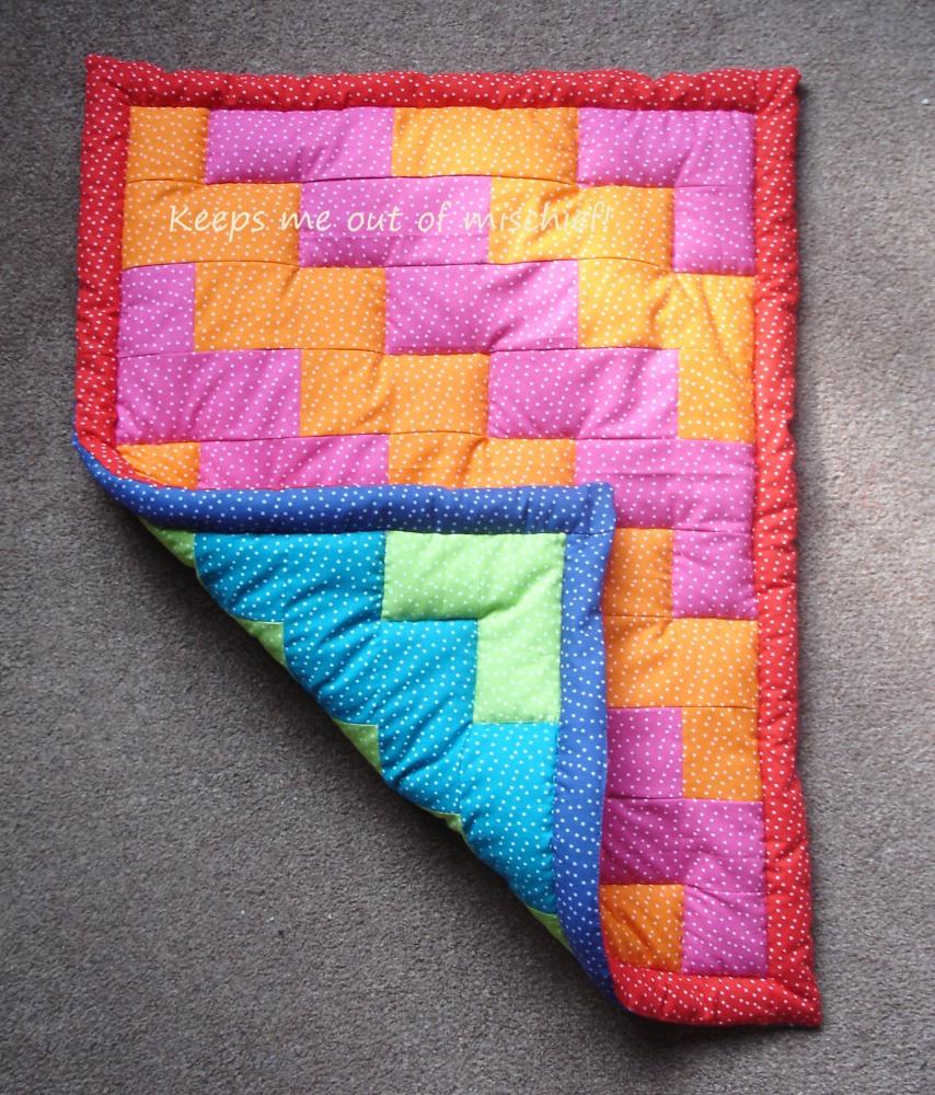 A first attempt at a patchwork quilt (1/6)