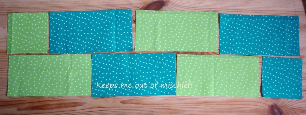A first attempt at a patchwork quilt (4/6)