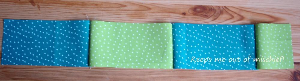 A first attempt at a patchwork quilt (6/6)