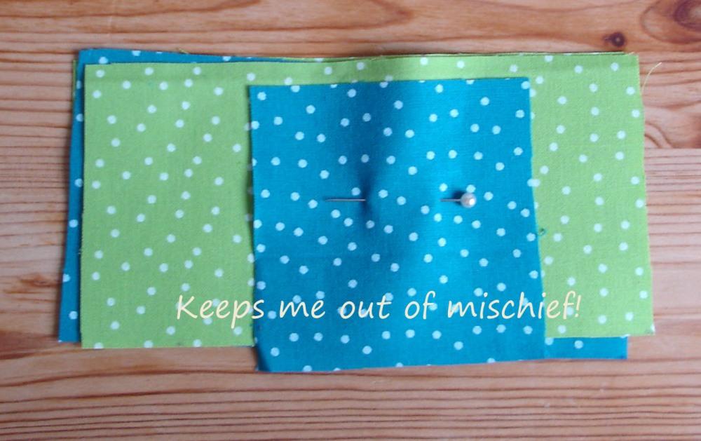 A first attempt at a patchwork quilt (5/6)