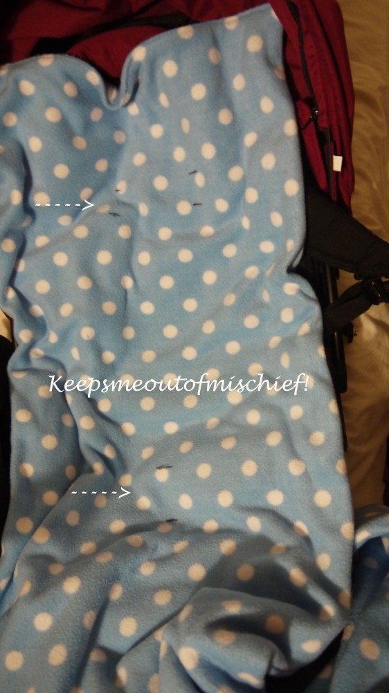 Fleecy Cosytoes for the Pushchair - Tutorial (3/4)