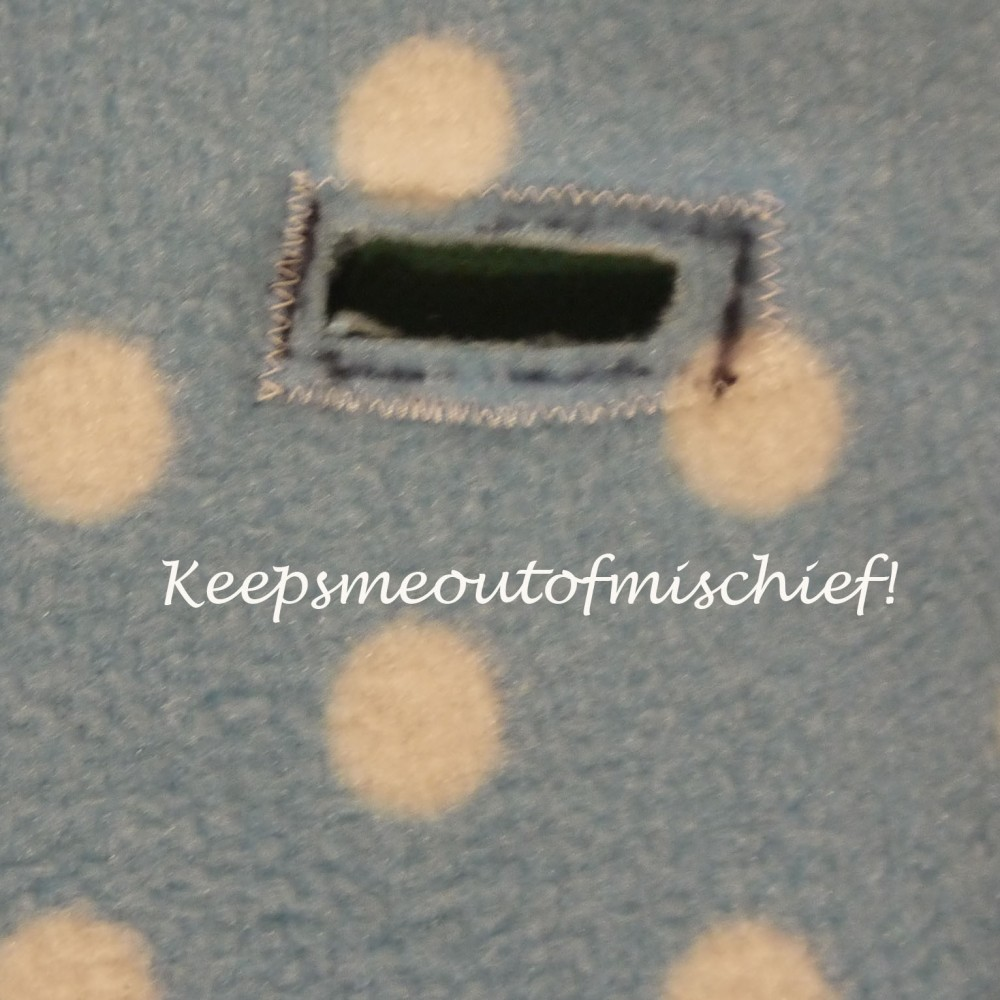 Fleecy Cosytoes for the Pushchair - Tutorial (4/4)