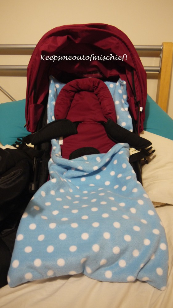 Fleecy Cosytoes for the Pushchair - Tutorial (1/4)