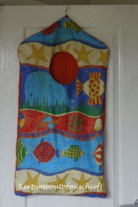 Washing Bag for Baby B's Nursery