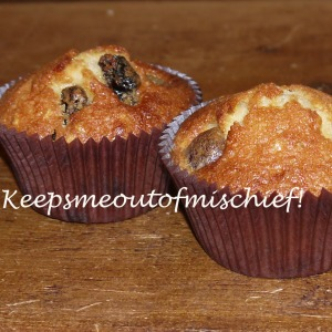Cherry, Raisin and Hazelnut Cupcakes