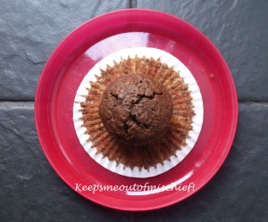 Courgette and Chocolate Muffins