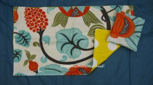 Flowery Travel Nappy Mat