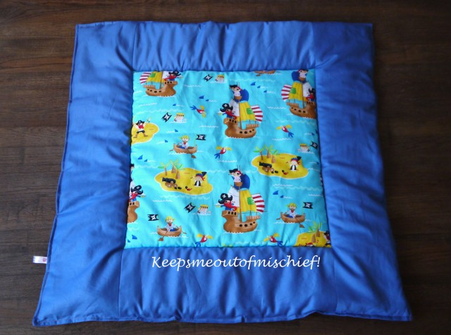 Billy's pirate quilt