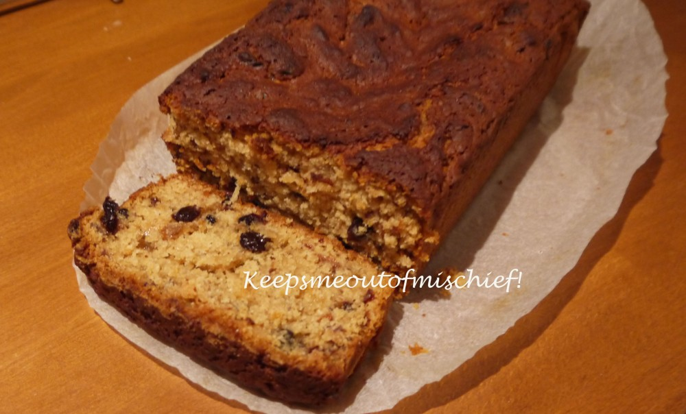 Using Up The Leftovers - Mincemeat Tea Loaf
