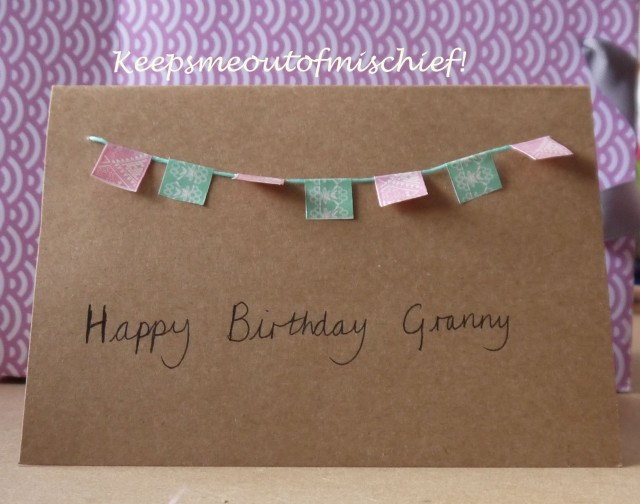 Granny's Birthday Card