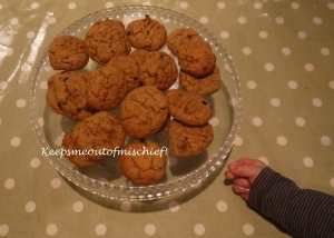 Banana and Peanut Butter Cookies