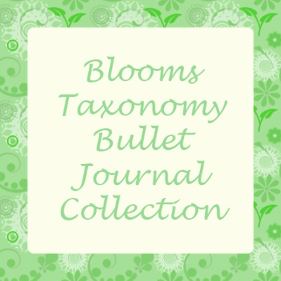 Blooms Taxonomy bullet journal collection.jpg